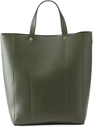 Neiman Marcus Perse Faux Leather Tote Bag