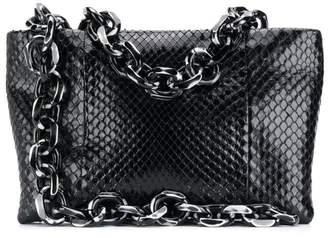 Calvin Klein chain-embellished clutch