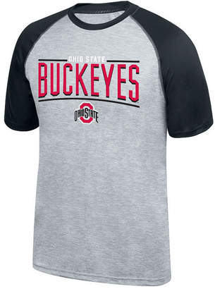 Top of the World Men's Ohio State Buckeyes Elevate Poly Raglan T-Shirt