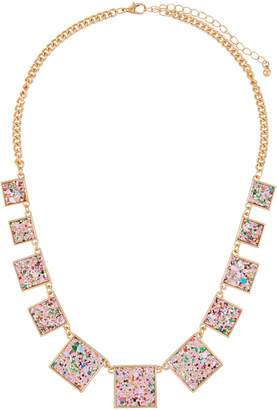 Romeo & Juliet Couture Glitter Statement Necklace