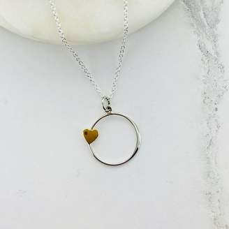 Francesca Rossi Designs Heart Ring Necklace