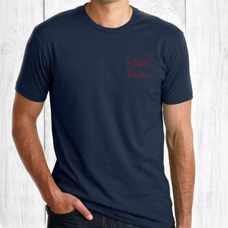 b06d7894 Betty Bramble Father's Day Embroidered Papa Bear T Shirt