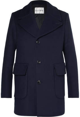 Privee SALLE Scott Slim-Fit Virgin Wool-Blend Overcoat