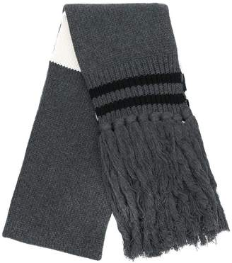 Paura long fringed scarf