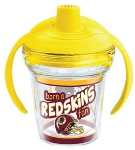 Tervis NFL Washington Redskins Born A Fan 6oz Sippy Cup with Lid