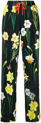 Dolce & Gabbana floral-print jogger trousers