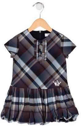 Carrera Pili Girls' Plaid Dress