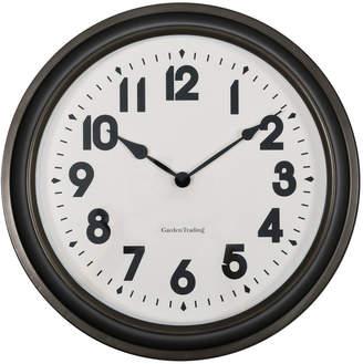 Garden Trading - Broadway Wall Clock - Gunmetal