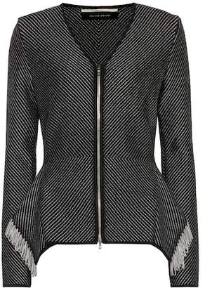 Roland Mouret Brannon fringed jacket