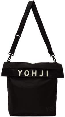 Y-3 Y 3 Black Logo Tote Bag