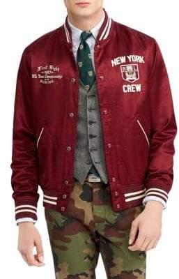Polo Ralph Lauren Vintage Satin Varsity Jacket
