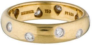 Tiffany & Co. Diamond Etoile Band $1,145 thestylecure.com