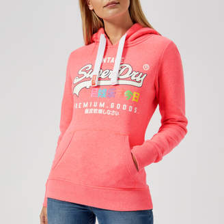 Superdry Women's Vintage Logo Tropical Entry Hoody