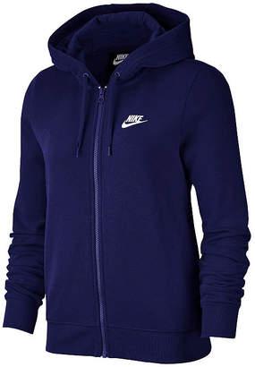 Nike Womens Long Sleeve Knit Hoodie