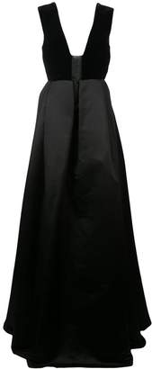 Alex Perry flared formal gown