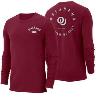 Nike Men's Oklahoma Sooners Retro Cotton Long Sleeve T-Shirt