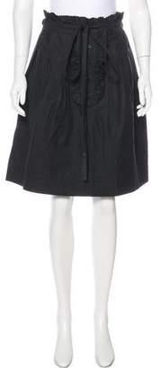 Bernhard Willhelm Ruffled Knee-Length Skirt