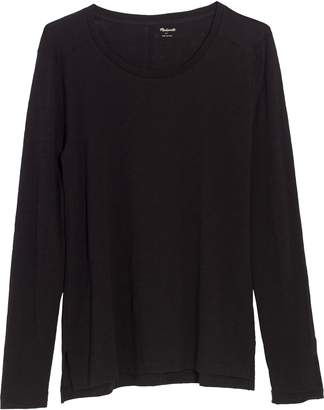 Madewell Whisper Cotton Long Sleeve Crewneck Tee