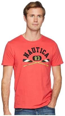 Nautica Heritage Oars Crew T-Shirt Men's Clothing