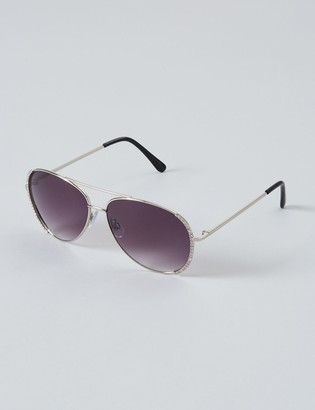 Lane Bryant Pave Aviator Sunglasses