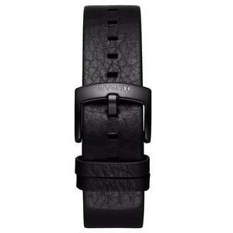 MVMT Mens Revolver Series20mm Black Leather