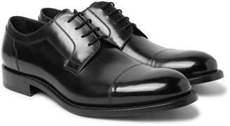 O'Keeffe Algy Polished-Leather Derby Shoes