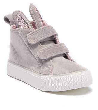 Joe Fresh Bunny High Top Sneaker (Toddler)