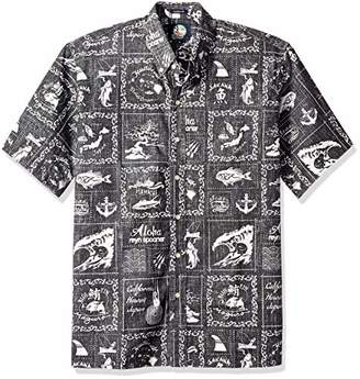 Reyn Spooner Men's Stories from The East Spooner Kloth Classic Hawaiian Shirt