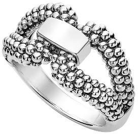 Women's Lagos Derby Caviar Ring $300 thestylecure.com