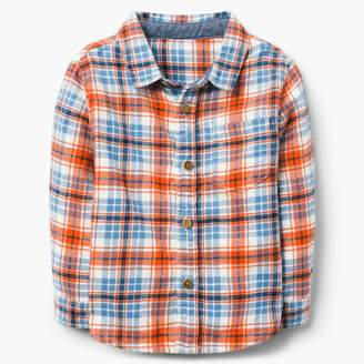 Gymboree Plaid Flannel Shirt