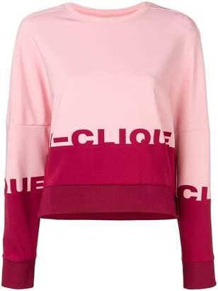 Pinko dropped shoulder sweatshirt