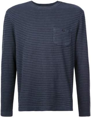 Michael Bastian striped crewneck top