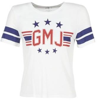 Volcom GMJ TEE women's T shirt in White