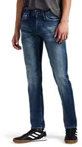 Denham Jeans the Jeanmaker THE JEANMAKER MEN'S RAZOR SELVEDGE-DENIM SLIM JEANS