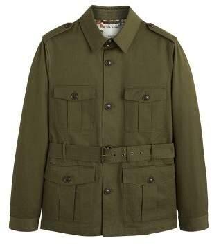 Belt cotton field jacket