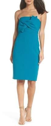 Chelsea28 Strapless Bow Front Dress (Regular & Petite)