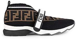 Fendi Women's Rockoko Knit Sneakers
