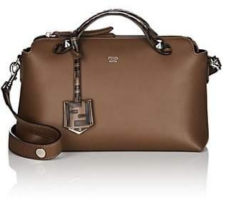 Fendi Women's By The Way Medium Leather Shoulder Bag - Brown