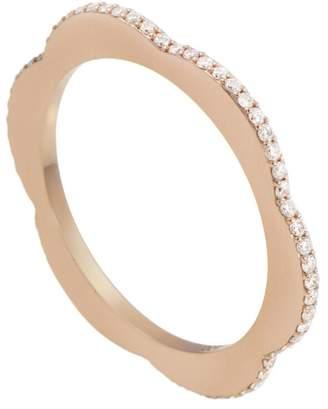 Raphaele Canot Diamond Happy Deco Ring - Rose Gold