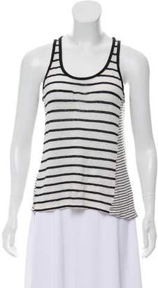 Vince Striped Sleeveless Top