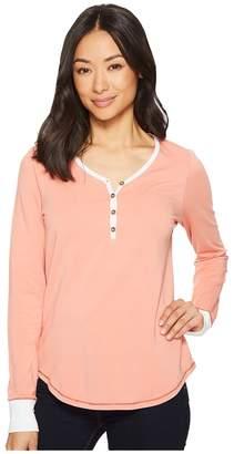 Aventura Clothing Slumber Long Sleeve Henley Women's Pajama