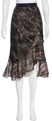 Prabal Gurung Lace Midi Skirt w/ Tags