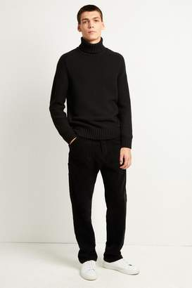 French Connenction Cotton Wool Chunky Roll Neck Jumper