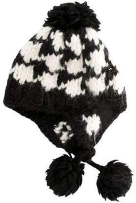 Eugenia Kim Chunky Knit Pom-Pom Beanie