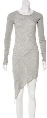 Enza Costa Asymmetrical Midi Dress