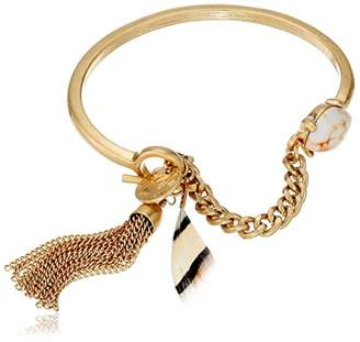 Danielle Nicole Enchanted Tribal Link Charm Bracelet