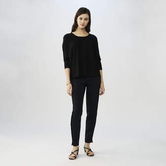Maje Oversized silk and cashmere sweater