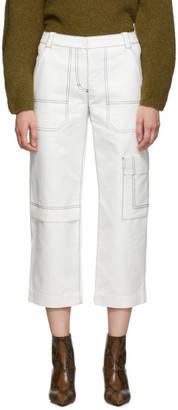 3.1 Phillip Lim Off-White Woolmark Slim Cargo Trousers