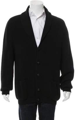 Tom Ford Merino Wool Shawl Cardigan