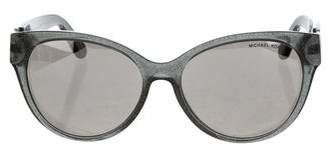 Michael Kors Holographic Mirrored Sunglasses